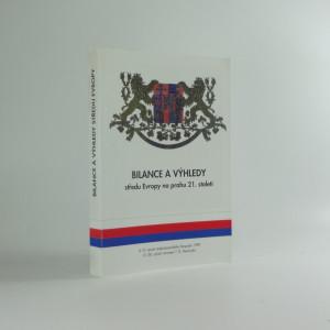 náhled knihy - Bilance a výhledy středu Evropy na prahu 21. století