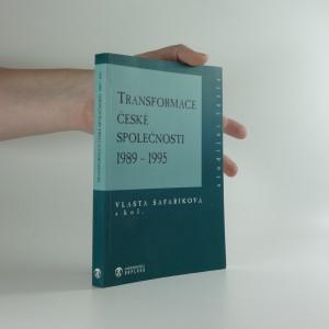 náhled knihy - Transformace české společnosti : 1989-1995