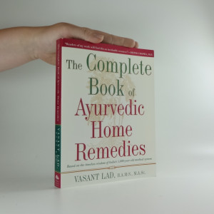náhled knihy - The Complete Book of Ayurverdic Home Remedies