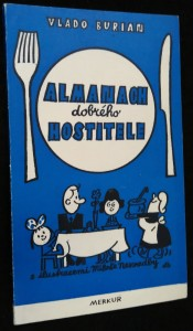 náhled knihy - Almanach dobrého hostitele
