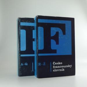 náhled knihy - Česko-francouzský slovník, svazek I-II