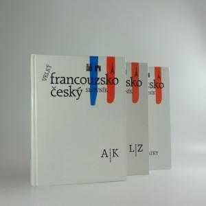 náhled knihy - Velký francouzsko-český slovník, díl I-III