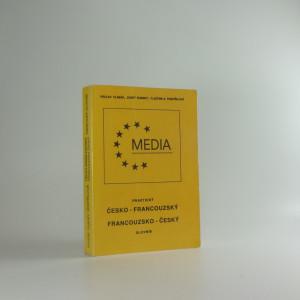 náhled knihy - Praktický česko-francouzský a francouzsko-český slovník