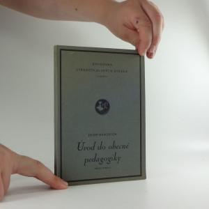 náhled knihy - Úvod do obecné pedagogiky