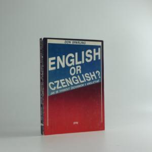 náhled knihy - English or Czenglish? : jak se vyhnout čechismům v angličtině
