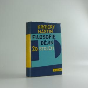náhled knihy - Kritický nástin filosofie dějin 20. století