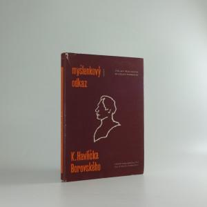 náhled knihy - Myšlenkový odkaz Karla Havlíčka Borovského