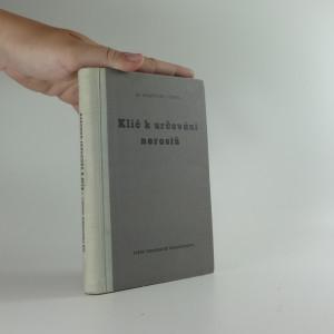 náhled knihy - Klíč k určování nerostů