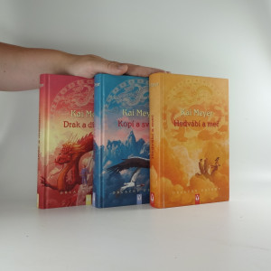 náhled knihy - Oblačný ostrov 3 svazky: Hedvábí a meč, Kopí a světlo, Drak a diamant