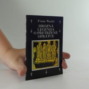 náhled knihy - Hrozná legenda o přetržené oprátce