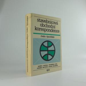 náhled knihy - Stavebnicová obchodní korespondence česko-španělská