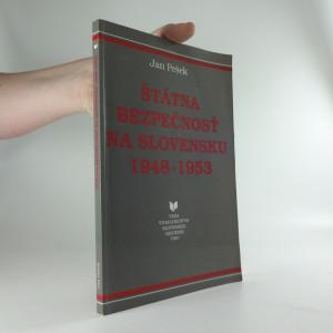 náhled knihy - Štátna bezpečnosť na Slovensku 1948-1953