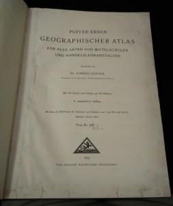 náhled knihy - Geographischer Atlas für alle Arten von Mittelschulen und Handelslehranstalten