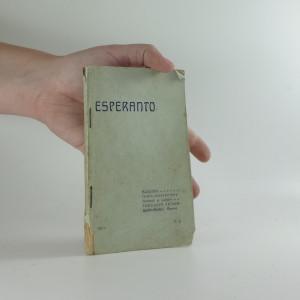 náhled knihy - Slovník česko-esperantský