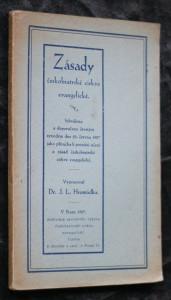 náhled knihy - Zásady českobratrské církve evangelické : z usnesení II. synodu českobratrské církve evangelické a z uložení výboru k tomu zvoleného
