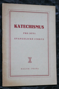 náhled knihy - Katechismus pro děti evangelické církve