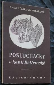náhled knihy - Posluchačky v kapli Betlemské