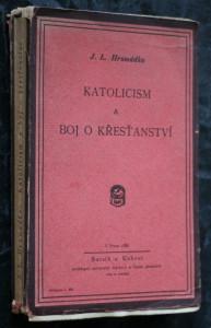 náhled knihy - Katolicism a boj o křesťanství