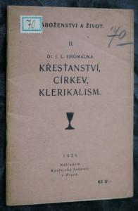 náhled knihy - Křesťanství, církev, klerikalism