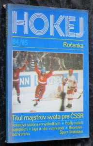 náhled knihy - Hokej 84/85
