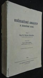 náhled knihy - Koželužské analysy a zkoušení usní