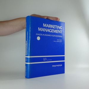 náhled knihy - Marketing management : analýza, plánování, realizace a kontrola