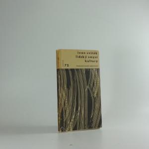 náhled knihy - Lidský smysl kultury : Eseje