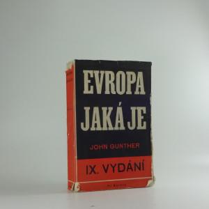 náhled knihy - Evropa - jaká je
