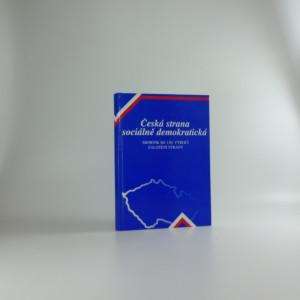 náhled knihy - Česká strana sociálně demokratická - Sborník ke 120. výročí založení strany