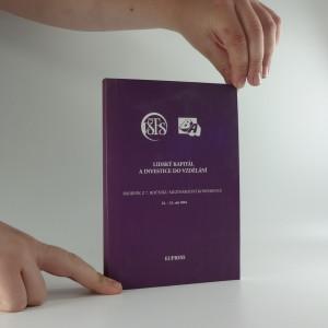 náhled knihy - Lidský kapitál a investice do vzdělání : sborník z 7. ročníku mezinárodní vědecké konference, ...