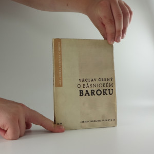 náhled knihy - Esej o básnickém baroku