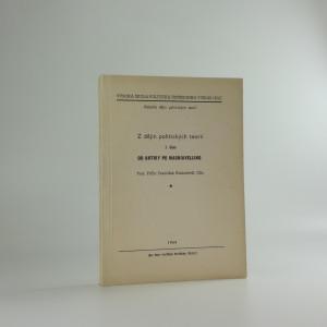 náhled knihy - Z dějin politických teorií. 1. část, Od antiky po Machiavelliho