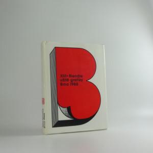 náhled knihy - XIII Bienále užité grafiky 1988, katalog
