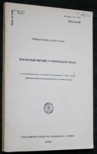 náhled knihy - Statistické metody v průmyslové praxi