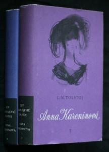 náhled knihy - Anna Kareninová. 1.-2. díl