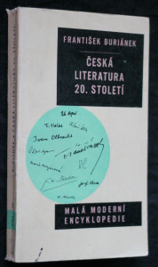 náhled knihy - Česká literatura 20. století : (Od moderny devadesátých let do současnosti)