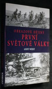 náhled knihy - Obrazové dějiny první světové války