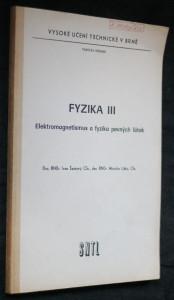 náhled knihy - Fyzika III. Elektromagnetismus a fyzika pevných látek