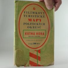 náhled knihy - Vilímkovy turistické mapy politických okresů K.Hora