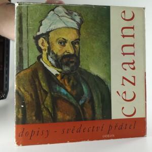 náhled knihy - Cézanne dopisy -svědectví přátel
