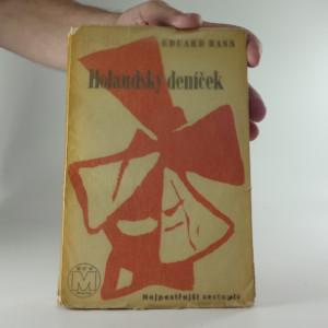náhled knihy - Holandský deníček