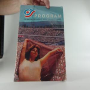 náhled knihy - Program československé spartakiády 1985