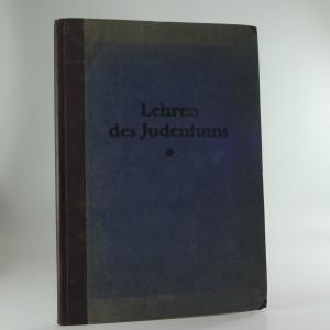 náhled knihy - Die Lehren des Judentums Gekürzte Handausgabe