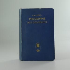 náhled knihy - Philosophie der Geschichte