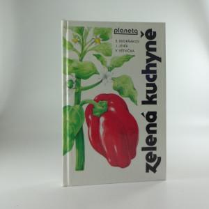 náhled knihy - Zelená kuchyně.