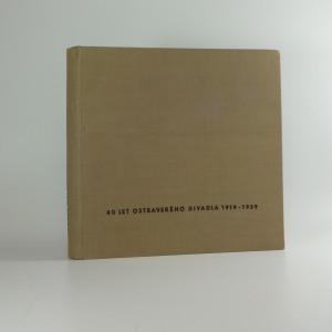 náhled knihy - 40 let ostravského divadla 1919-1959
