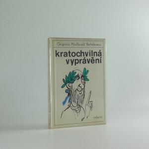 náhled knihy - Kratochvilná vyprávění