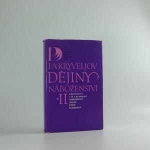 náhled knihy - Dějiny náboženství, díl II