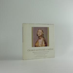náhled knihy - České gotické umění, katalog výstavy 1977