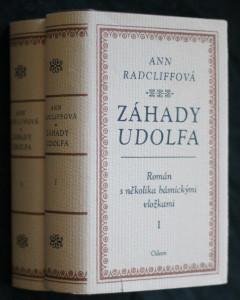 náhled knihy - Záhady Udolfa : román s několika básnickými vložkami